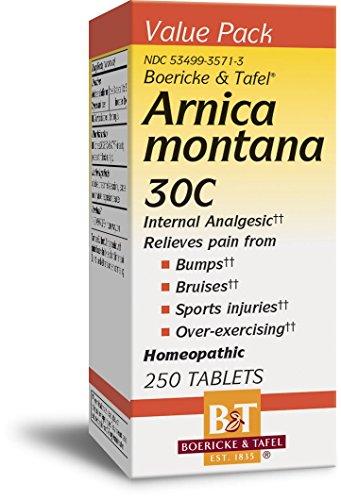 Montana Arnica Homeopathy - Boericke & Tafel Arnica Montana 30 C - 250 Tablets
