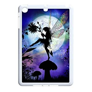 Diy Beautiful Fairy Phone Case for iPad Mini White Shell Phone JFLIFE(TM) [Pattern-1]