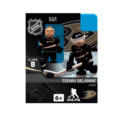 (NHL Anaheim Ducks Teemu Selanne Generation 1 Toy Figure)