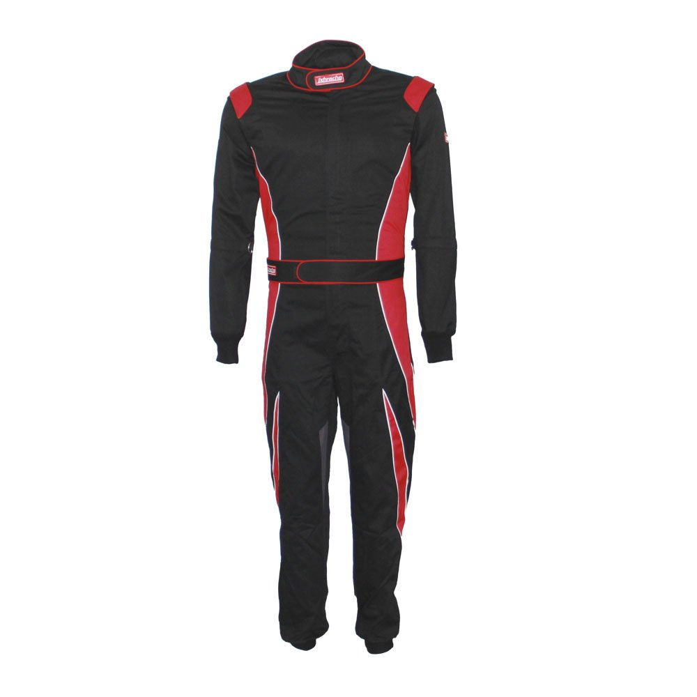 jxhracing RB-C037 SFI 3.2a/1 One Layer Cotton Fire Protection Auto Driving Racing Suit-XX Large