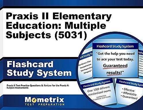 praxis ii elementary education multiple subjects 5031 exam rh amazon com Praxis II Test Pcat Study Guide