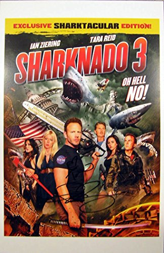 Tara Reid / Ian Ziering SHARKNADO 3 POSTER 11x17 In Person Autographed Photo Private Signing