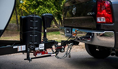 Fastway e2 2-Point Sway Control Round Bar Hitch, 94-00-0800, 8,000 Lbs Trailer Weight Rating, 800 Lbs Tongue Weight Rating, Weight Distribution Kit Includes Standard Hitch Shank, Ball NOT Included