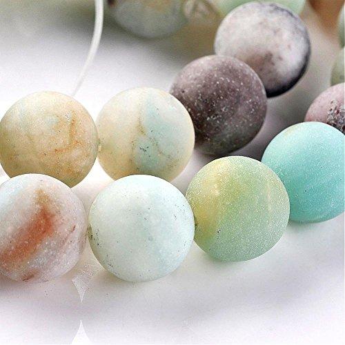 Natural Amazonite Round Beads - 4
