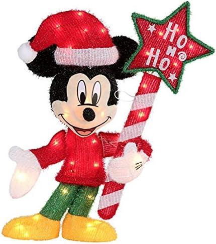 Amazon.com: Disney Pixar - Escultura navideña de Mickey ...