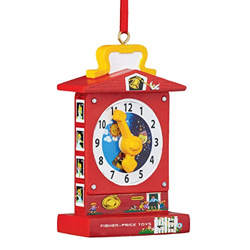 Department 56 Fisher Price Teaching Clock Ornament