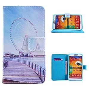 Para Galaxy Note 3 , ivencase Retro Magnético PU Cuero Stand Poco Bolsillo Tarjeta Titular Flip Cartera Cubierta Funda Case Cover Para Samsung Galaxy Note 3 III N9000 / N9005