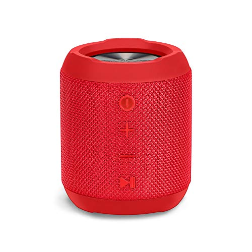 Sbode Bluetooth Speaker Portable Waterproof Outdoor Speakers, 12W HD Stereo Sound, Sync Together, Built in Mic, TF Card, Auto Off, Perfect Wireless Speaker for Home Travel Beach Shower ()