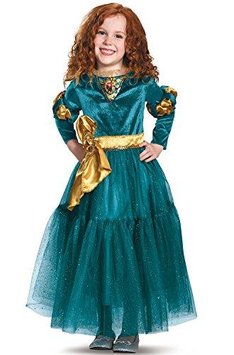 Merida Deluxe Disney Princess Brave Disney/Pixar Costume, X-Small/3T-4T