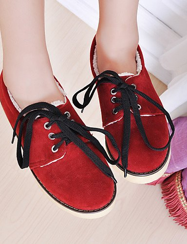 us5 Arrondi Jaune Femme Cn35 Chaussures Richelieu Bas Bout Marron Hug Red Eu36 5 Njx 5 Talon Similicuir Rouge Uk3 Décontracté vXRwWqExE6