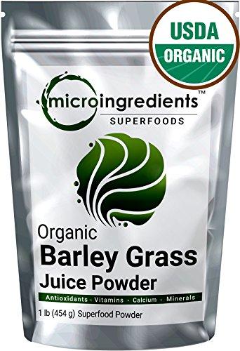 Micro Ingredients Certified Organic Barley