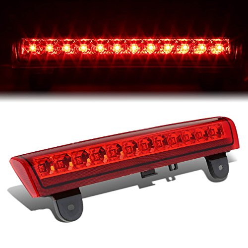 (For Chevy Tahoe/Suburban/GMC Yukon GMT800 High Mount LED 3rd Brake Light (Red Lens))