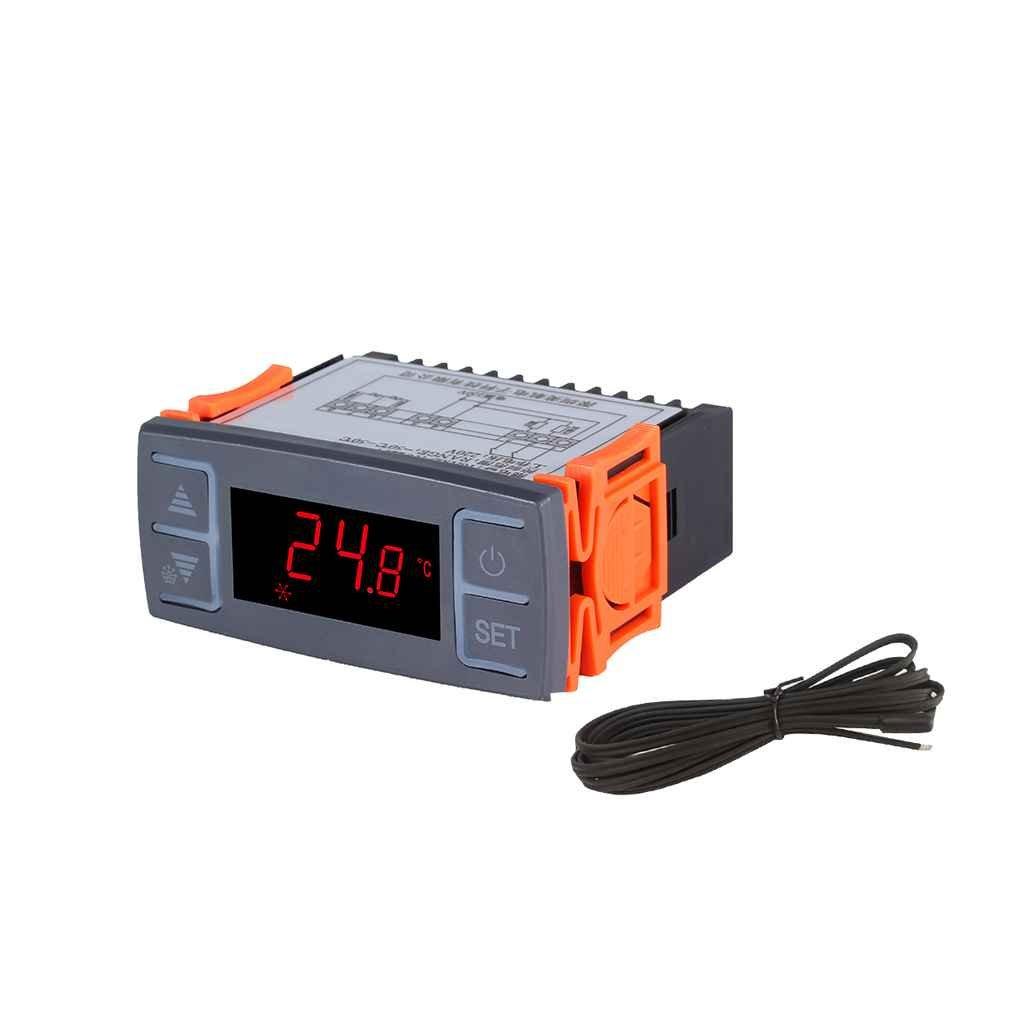 Termostato digitale frigorifero Congelatore Refrigerazione Sbrinamento Termostato con funzione allarme AC220V Chunyang