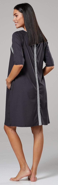 HAPPY MAMA Womens Maternity Nursing Delivery Hospital Gown Nightwear 1140