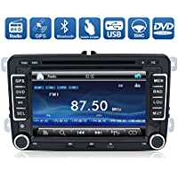 Navigation Seller- Double Din 7 Inch Wince 6.0 In-Dash GPS Navigation Fit For VW DVD Player Stereo Touch Screen + IPOD