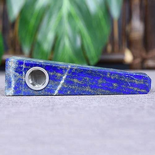 ブルークリスタルストーンパイプ、ブルーポイント、ブルー融解ストーンパイプ