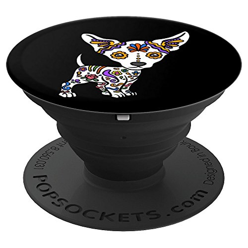 (Cute Chihuahua Sugar Skull - PopSockets Grip and Stand for Phones and)