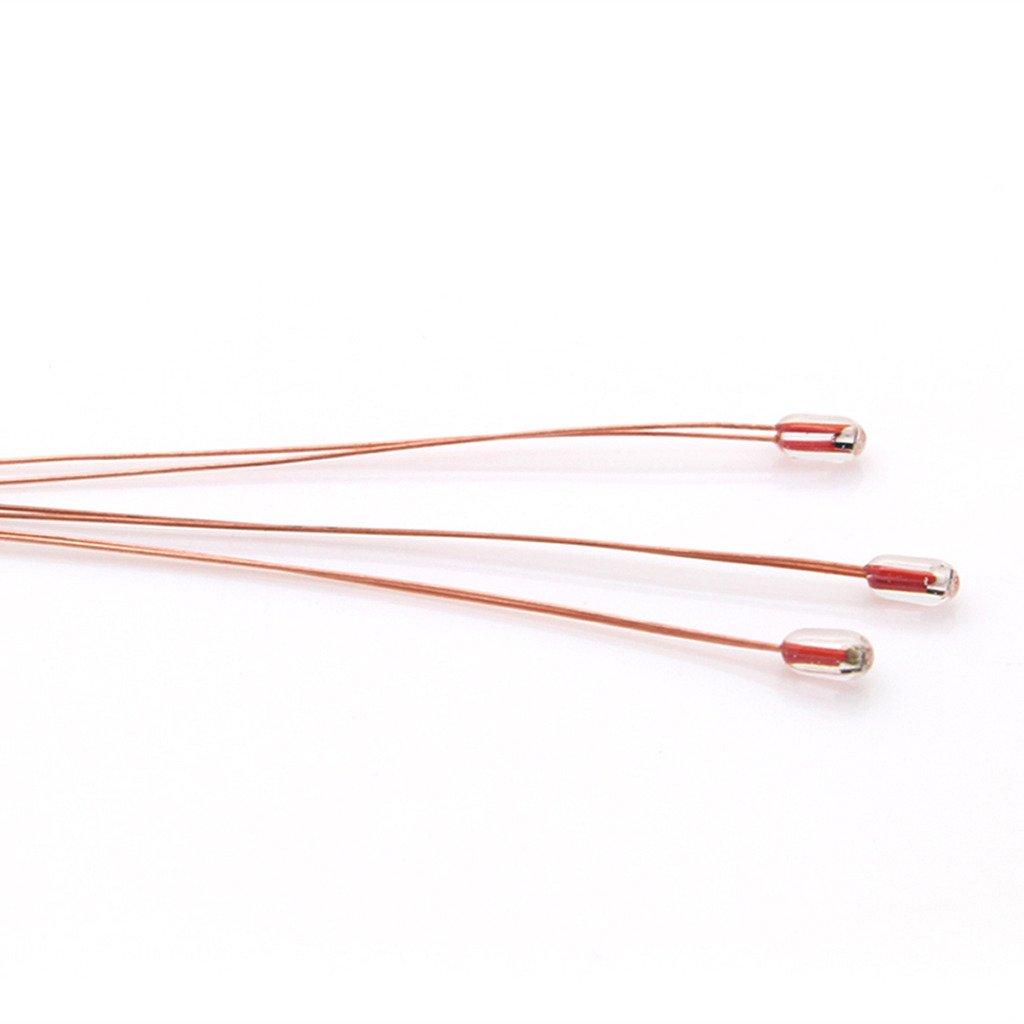 5Pcs 100K ohm NTC Thermistors thermistor,temperture sensor for Reprap MK2a