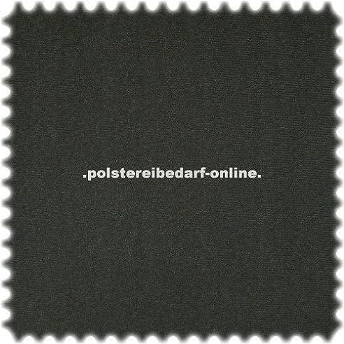 Klettflauschstoff Klettstoff für Polstermöbel 75 cm breit Schwarz ...