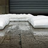FloodSax Sandless Sandbag, Water Absorbent Flood
