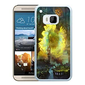 Beautiful And Unique Designed With Castle Lights Columns Mist (2) For HTC ONE M9 Phone Case