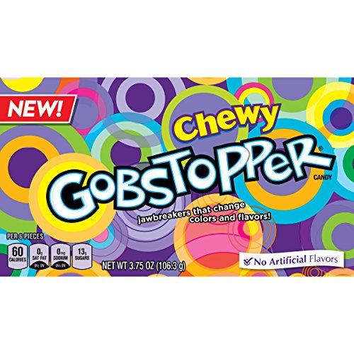 - Gobstopper Chewy Candy Video Box, 12 Count