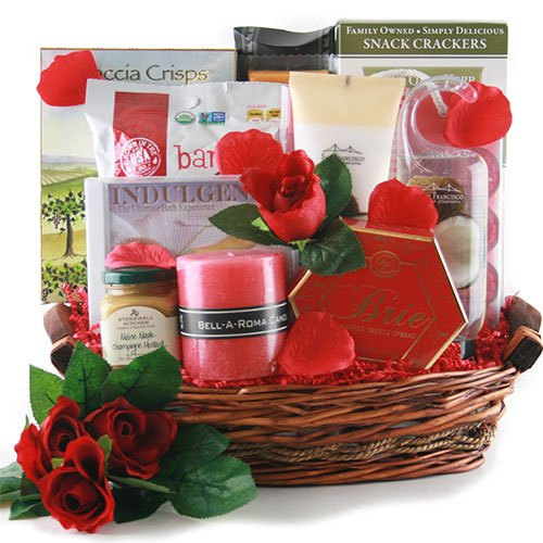 Date Night Anniversary Gift Basket