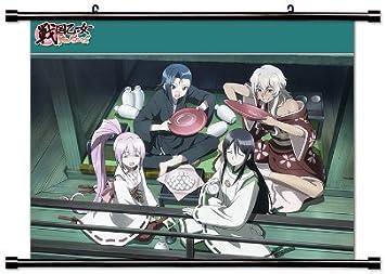 Battle chicas – tiempo paradoja (Sengoku Otome Momoiro paradoja) Anime Tejido Póster de desplazamiento de pared (32 x 24) inches. [WP] -bat-4 (L) by WallScrollPosters: Amazon.es: Hogar