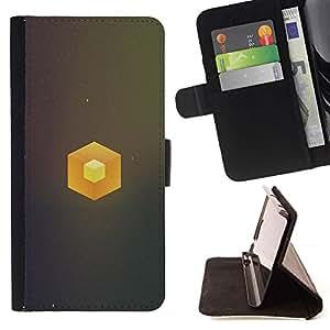 Momo Phone Case / Flip Funda de Cuero Case Cover - Cubo simple;;;;;;;; - Sony Xperia Z3 D6603