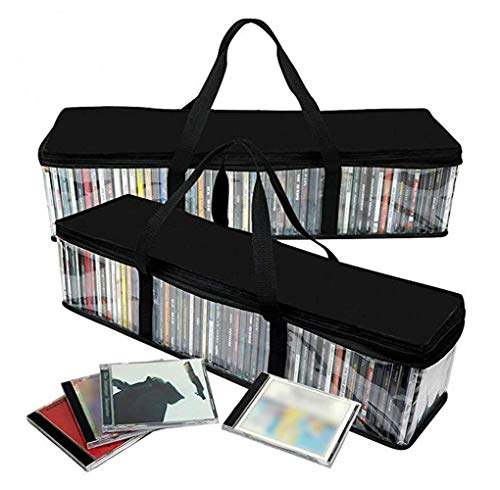 - Imperius Portable CD Sturdy Storage Collection Bag/Moistureproof with Zipper and Carrying Handles/Easy to Carry/Total 48 CD's