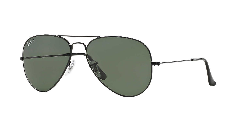 New Unisex Sunglasses Ray-Ban RB3025 Aviator Gradient 001/3F B07CK49CMF Black|58 ミリメートル Black