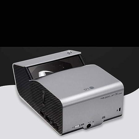 Dlp HD Proyector de Tiro Ultra Corto, Proyector Comercial portátil, Smart TV sin Pantalla 3D, 40-90 Pulgadas, Corrección Trapezoidal de 40 Grados, Bluetooth inalámbrico, 2.3kg: Amazon.es: Hogar