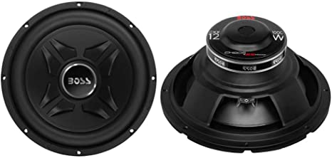 """2 New Boss CXX12 12/"""" 2000W 4-Ohm Car Audio Power Subwoofers Sub Woofer Stereo"""