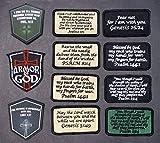 BASTION Morale Patches (Matthew 5:9, Black)   3D