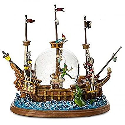 Amazon.com: Disneyland Paris Peter Pan Pirate Ship Snow ...