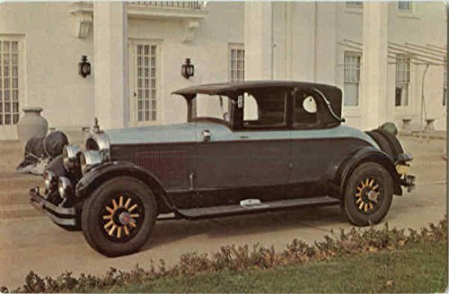 1925 Marmon Opera Coupe Cars Original Vintage - Car Marmon