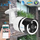 WiFi Camera Outdoor Home Security Camera Wireless Camera IP Camera with Night Vision,Motion Detection Alarm/Recording for Indoor Video Surveillance Baby/Elder/Pet/Office Monitor, Support SD Card 960P