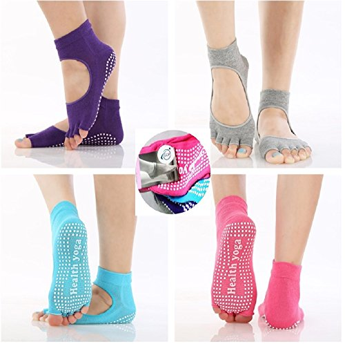 tyzon1-yoga-socks-pack-of-4-toeless-non-slip-skid-yoga-pilates-socks-with-grips-cotton-for-women