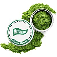 MatchaBar Matcha Ceremonial Grade Japanese Green Tea Powder with Organic Caffeine & Antioxidants