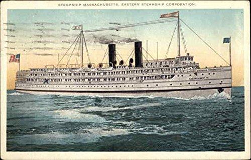 steamship-massachusetts-eastern-steamship-corporation-steamers-original-vintage-postcard
