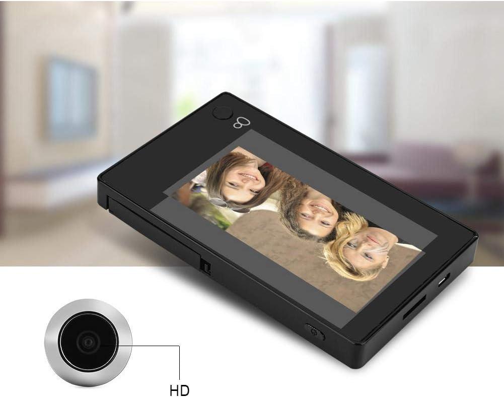 Tangxi Visionneuse dint/érieur,LCD TFT Couleur de 4,3 Smart Cam/éra de Judas Num/érique 145 /° Grand Angle HD Visuelle doeil de Chat /électronique