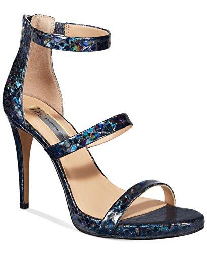 I35 Sadiee Strappy Dress Sandals - Bright White Blue/Navy Multi aIioW6su6y