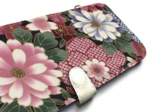 iphone 8 plus wallet case for iPhone 8 Plus Case iPhone 8 Plus Case wallet case pink blue Asian floral