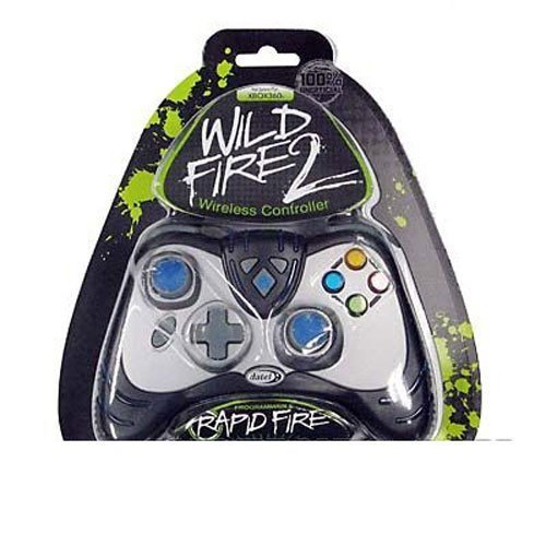 Xbox 360 Wild Fire 2 Wireless Controller - Black (Controller Xb360 Wireless)