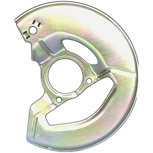 Eckler's Premier Quality Products 25123912 Corvette Brake Caliper Shield Right Front