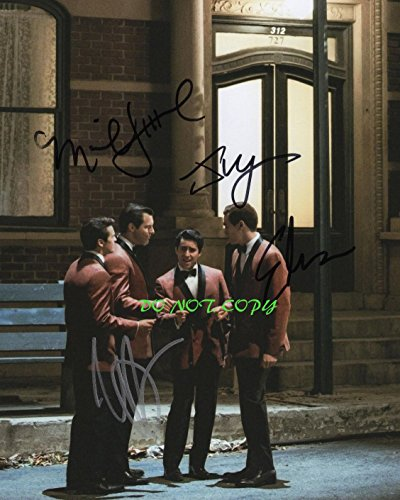 Jersey Boys movie cast reprint signed photo RP Frankie Valli from Loa_Autographs