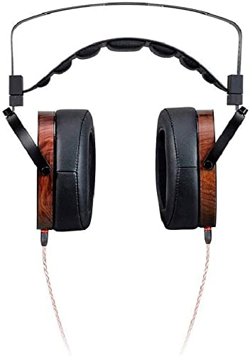 Monolith M1060 Over Ear Planar Magnetic Headphones - Black/Wood With 106mm Driver, Open Back Design