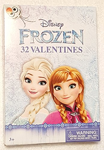 paper-magic-32-count-disney-frozen-kids-classroom-valentine-exchange-cards-anna-elsa-olaf-8-designs