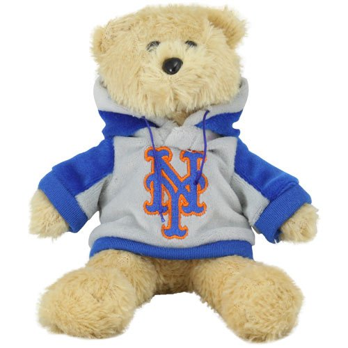 Football Fanatics MLB New York Mets 8'' Plush Hoodie Bear -