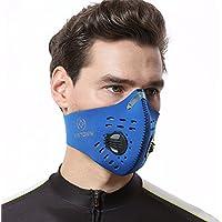XINTOWN Dustproof Máscara Máscara de gases de escape de filtración anti Polen Allergy PM2,5de carbón activado para Running Ciclismo y otras actividades al aire última intervensión